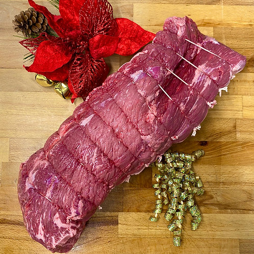 Extra Large Grain Fed Black Angus Silverside Roasting Joint 4.5kg-5kg