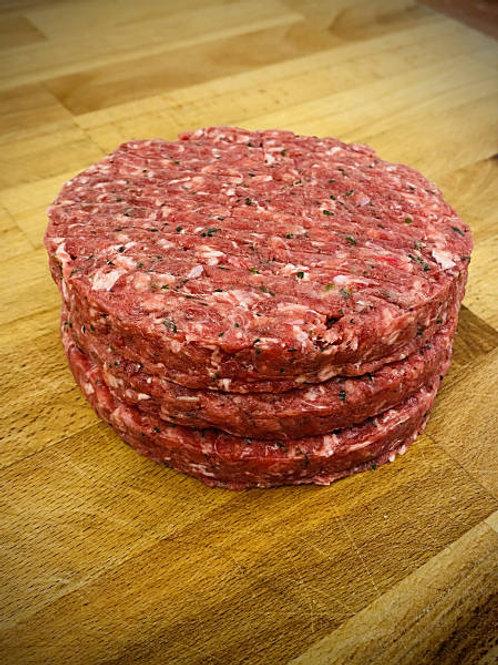 Award Winning Steak Burger 6oz (3x per pack)