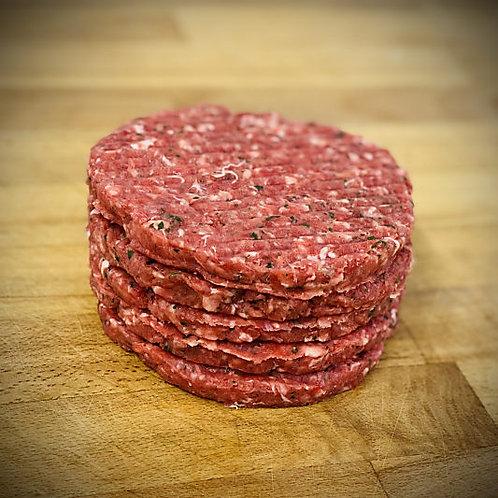 Award Winning Steak Burger 4oz (5x per pack)