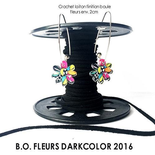BOUCLES D'OREILLE DARKFLOWER 2016