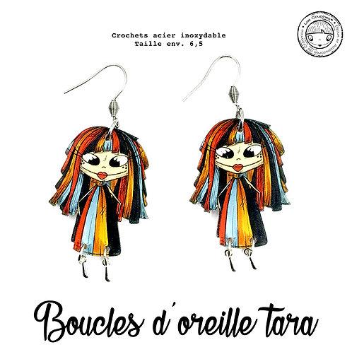 BOUCLES D'OREILLE TARA