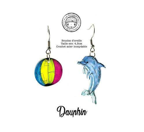 BOUCLES D'OREILLE DAUPHIN