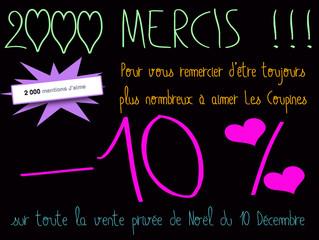 2000 MERCIS !!!