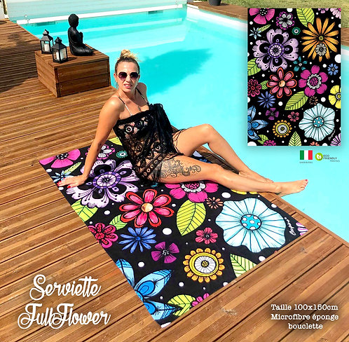 SERVIETTE FULLFLOWER