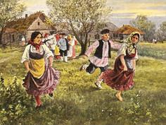 Весенние игры на Руси