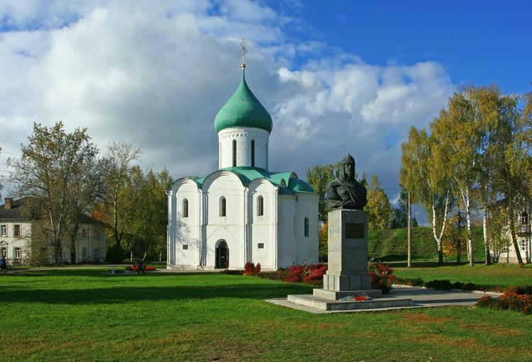 Красная площадь Переславля