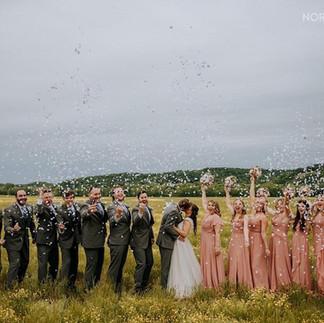 Wedding Day Celebration at Brookdale Farms!