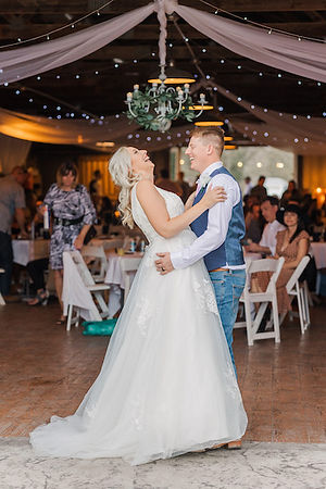 First Dance - Country Chic Wedding Venue