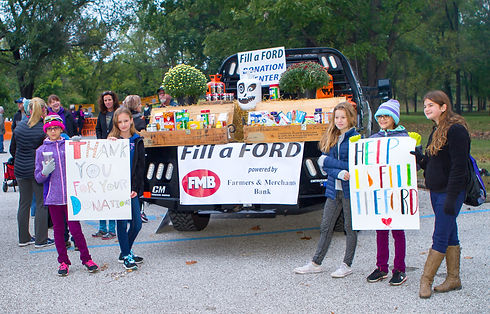 Food Donations Center - Fill A Ford