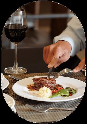 Fine Dining - Steak & Wine