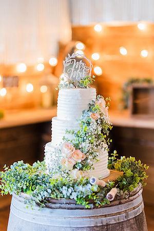 Wedding Cake - Barn Wedding St Louis, MO