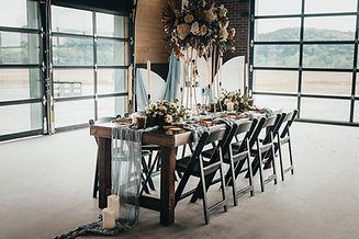 Industrial Chic Wedding Reception Venue - Missouri