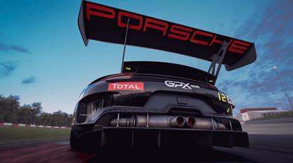 Nurburgring - Rear Porsche GT3R