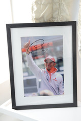 Signed Lewis poster