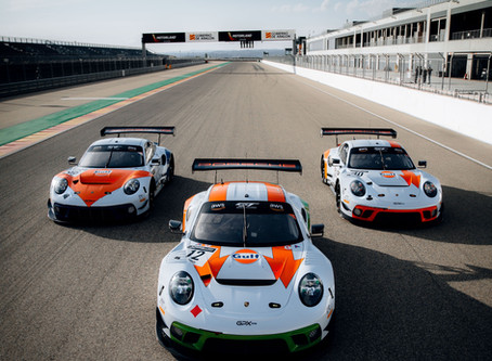 A legendary 50th anniversary livery for the three GPX Racing Porsches!