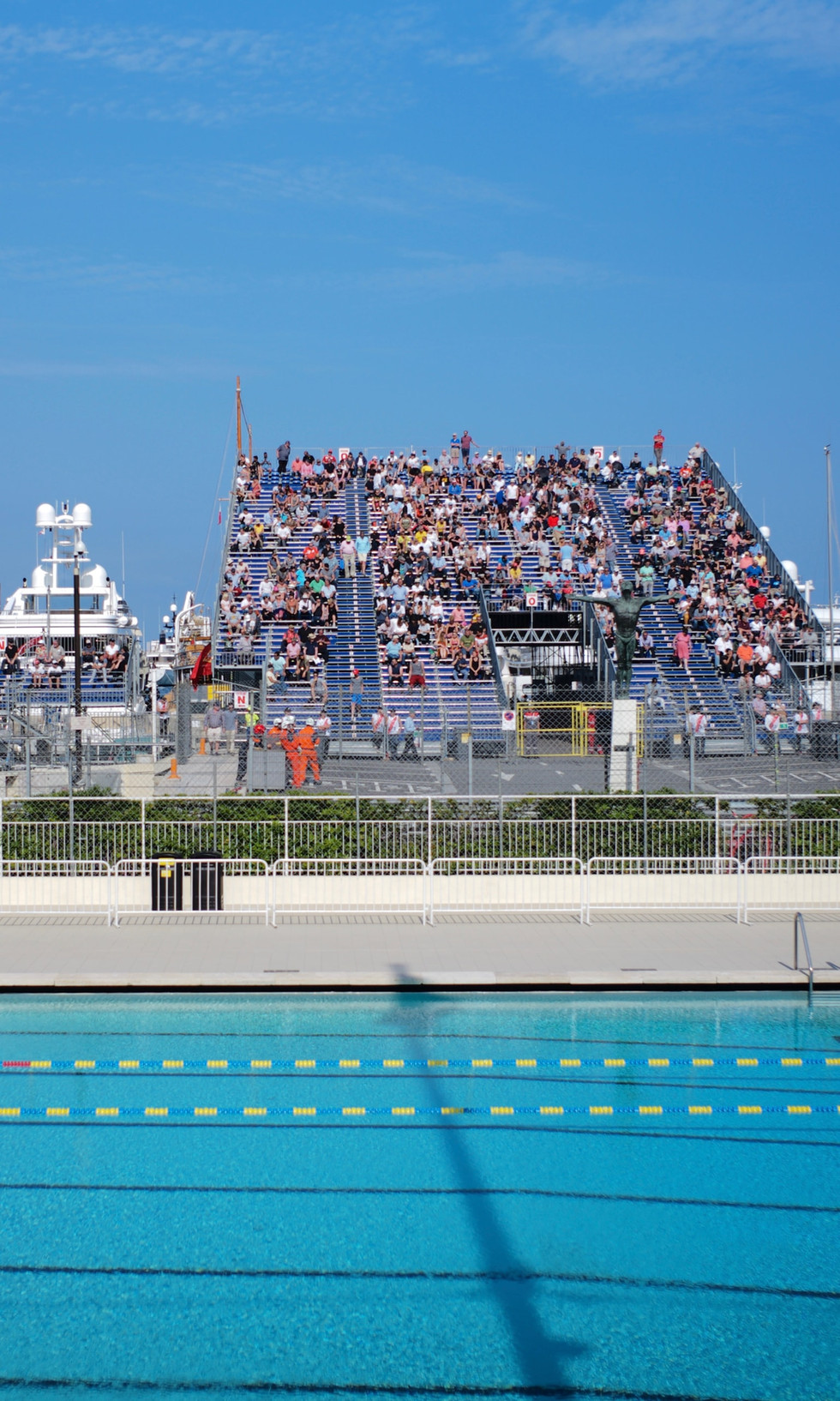 Monaco Historic 2018 Pool Corner