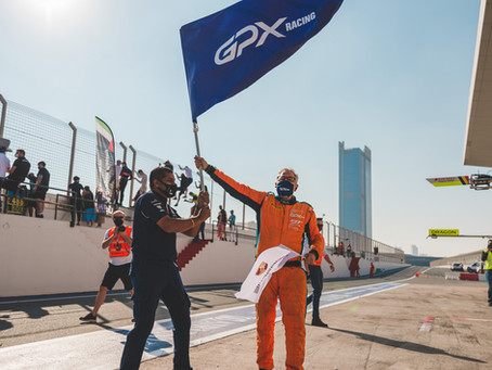 GPX Racing score their first victory in the 24 Hours of Dubai!