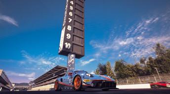 Barcelona - Start Line Porsche GT3R