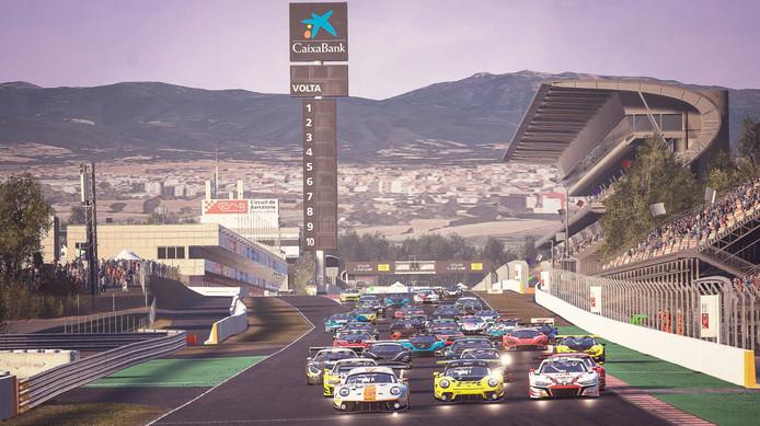 Barcelona - Race Start