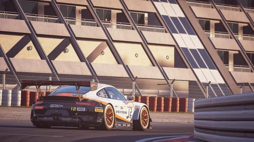 Nurburgring - Last Turn Porsche GT3R
