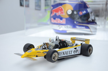 René Arnoux Renault Mini Model