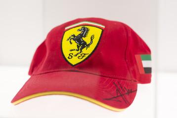 Signed Ferrari Cap