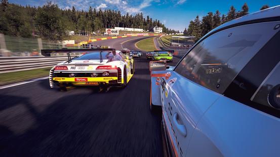 Spa-Francorchamps - Side Porsche GT3R