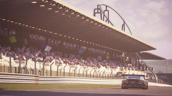 Nurburgring - Start Line Porsche GT3R
