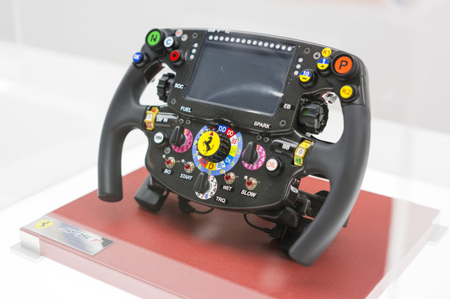 Ferrari SF15 T Steering Wheel
