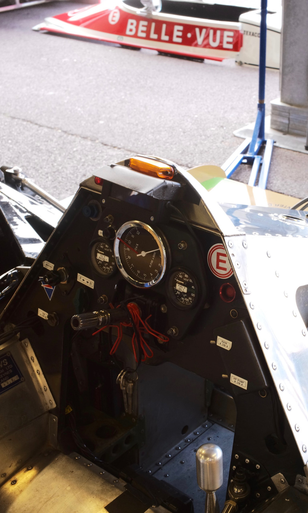 Arrows A3 - 1980 Cockpit