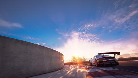 Kyalami - Last Turn Porsche GT3R