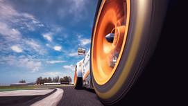 Silverstone - Wheel Porsche GT3R