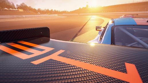 Barcelona - Rear Spoiler Porsche GT3R