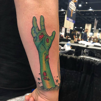 Don   Golden Coils tattoo