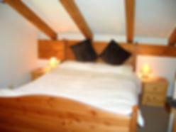 Selbhron bedroom with double bed, Haus Schneeberg, Mühlbach am Hochkönig