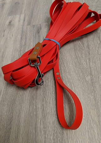 """35' Red 3/4"""" Long Line with Two Tone Accent and Handle"""