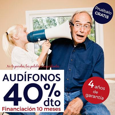 Audífonos con 40% de descuento en Óptica San Mateo, en Alicante,Benidorm, Elche, Elda y Novela