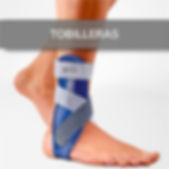 Tobilleras para lesiones y dolores en Óptica Ortopedi San Mateo en Elda y Novelda.