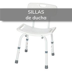 Silla de ducha para ayudar en el lavado diario de personas con movilidad reducida. Óptica Ortopedia en Elda y Novelda.