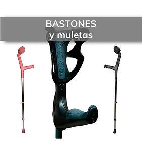 Gran variedad de bastones y muletas para la movilidad diaria. En Elda y Novelda.
