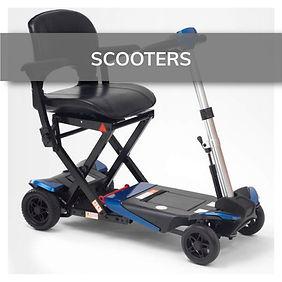 Scooters par movilidad reducida en tu ortopedia San Mateo en Elda y Novelda.