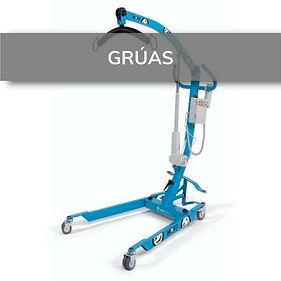 Grúas de elevación y traslado. Ortopedias en Elda y Novelda.