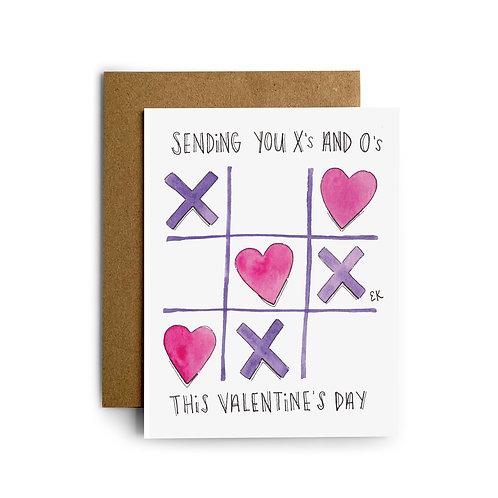 Tic-Tac-Toe Greeting Card