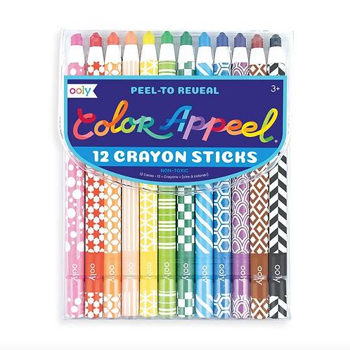 Peelable Crayons