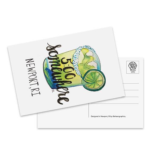 Margarita Postcard