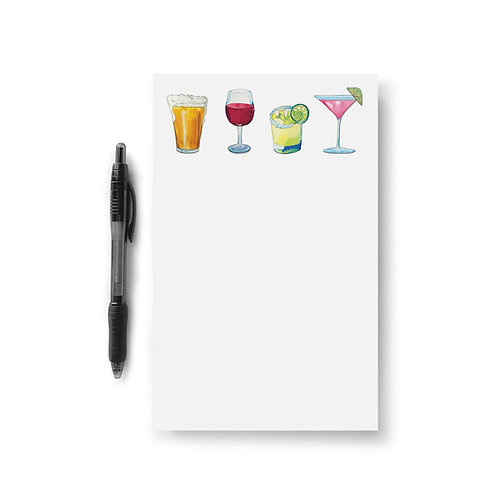 Happy Hour Notepad