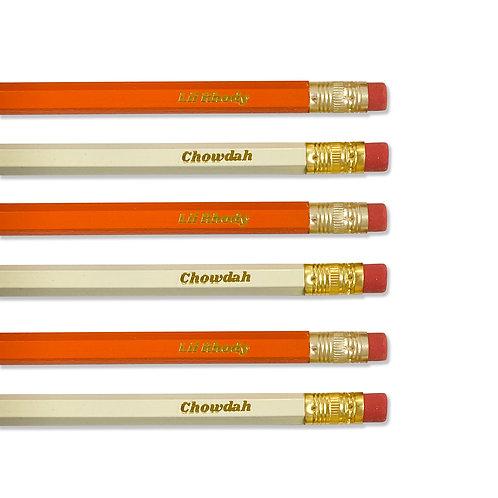 Rhody Chowdah Pencil Set