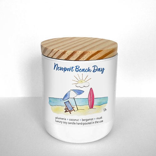 Newport Beach Day Soy Candle