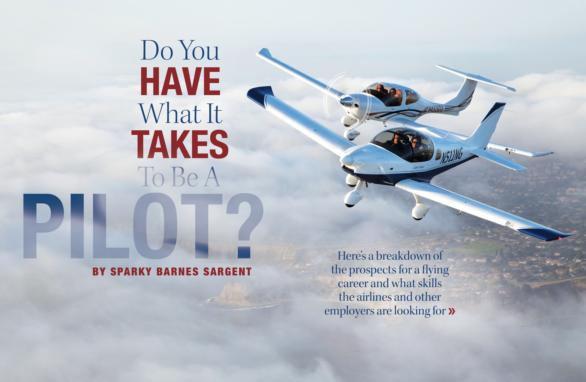 Do You Have What it Takes to Be a Pilot?