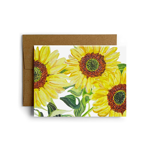 Sunflowers for Desiree Greeting Card